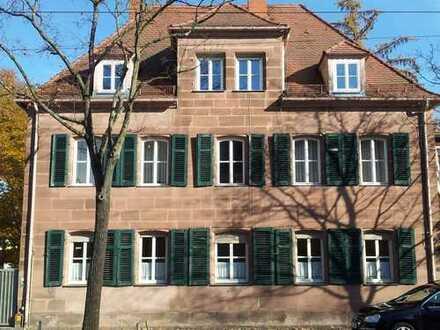Gepflegte 5-Zimmer-Erdgeschosswohnung mit Garten in Nürnberg-Mögeldorf