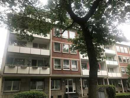 Wohnen in bevorzugter Lage von Krefeld! Ausgefallene 3-4 Zi.-Wohnung mit 2 Balkonen und Gäste-WC