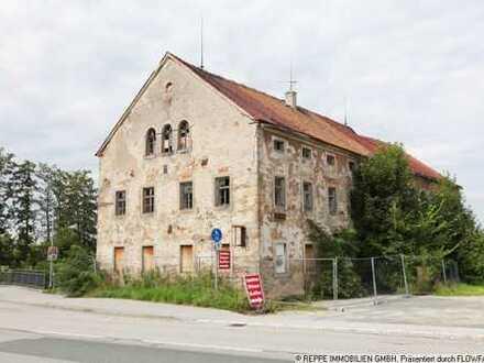 Baugrundstück mit Abbruchhaus und Landwirtschaftsfläche in Jenkwitz