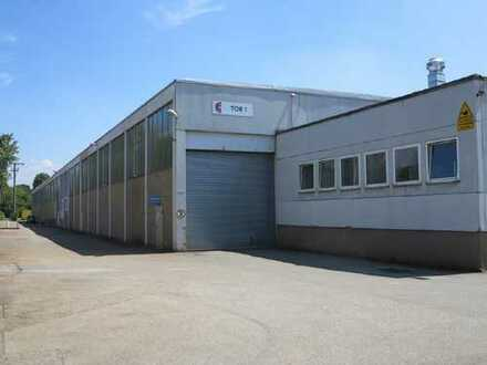 Gewerberäume für Produktion und Lager in Autobahnnähe