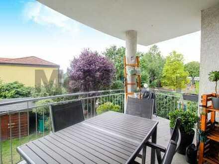 Freundlich und gepflegt: Helle 4-Zi.-ETW mit Balkon und Gartenanteil unweit von Erlangen
