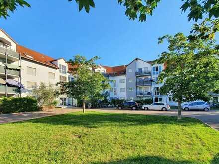 Vermietete 2-Zimmer-Wohnung mit Balkon in Leimen -St. Ilgen (Fasanerie)