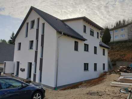 Erstbezug 4-Zimmer-Erdgeschosswohnung mit Garten in kfw-Effizienzhaus