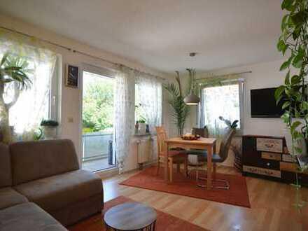 Schnucklige, top gepflegte 2,5 Zimmer Wohnung in absolut ruhiger Lage sucht neuen Eigentümer
