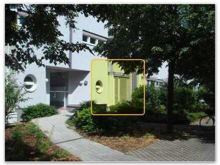 Exklusive, gepflegte 1-Zimmer-EG-Wohnung incl. TG-Stellplatz in Mannheim