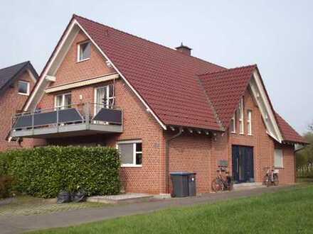 Zentral gelegene Wohnung im Grünen mit Spitzbodenreserve in Sythen