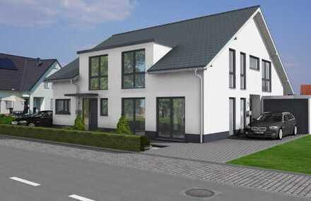 FISCHEN:Frei planbare Doppelhaushälfte in gewachsener Lage mit 145m2, inkl. Wärmepumpe