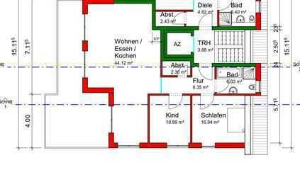 Provisionsfrei! Sonnige 3-Zimmer-DG-Wohnung mit Balkon, gehobene Ausstattung in Bad Dürrheim