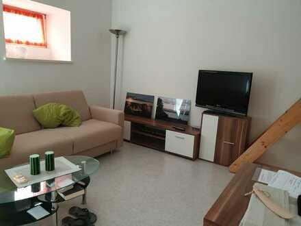 Gepflegte 1-Raum-Wohnung im Erdgeschoss mit Küchenzeile in Künzelsau-Belsenberg