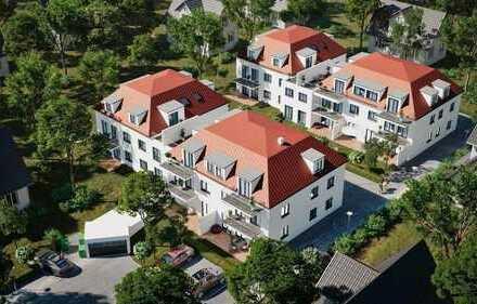 Neubau von 2-, 3- und 4 Zimmerwohnungen