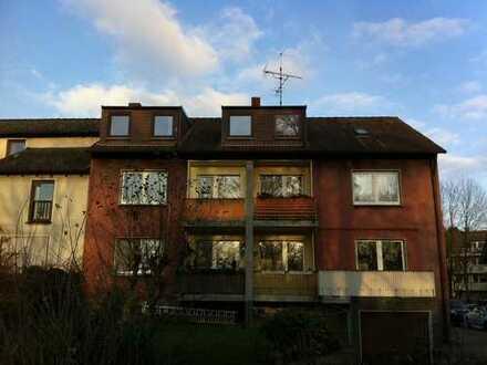 Ruhige, außergewöhnliche Dachgeschoßwohnung