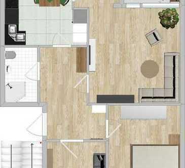 RESERVIERT! Schöne drei Zimmer Wohnung in Bremen, Neue Vahr Südost