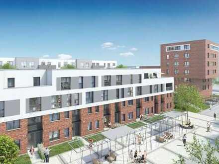 Ideale Kapitalanlage: 2 Zimmer, Terrasse, Garten, toller Grundriss