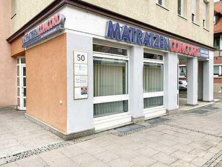 Großzügige Ladeneinheit in Fellbach-Schmiden in verkehrsgünstiger Lage