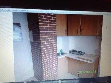 1. Zimmer apt Sep .eingang. Mit. Dusche Und. Mini. Kochnische.