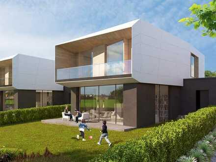 Großzügige Verglasung zum Garten - »WestVilla« mit 180 m² Wohnfläche