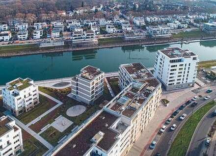 Einziehen und wohlfühlen: Ausgebaute 3 Zimmer-ETW am Rheinufer Süd