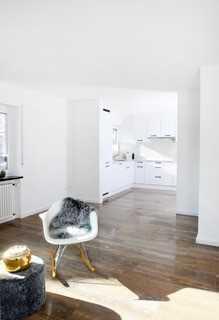 Erstbezug nach Sanierung: stilvolle 3-Zimmer-Wohnung mit Einbauküche und Balkon in Efringen-Kirchen