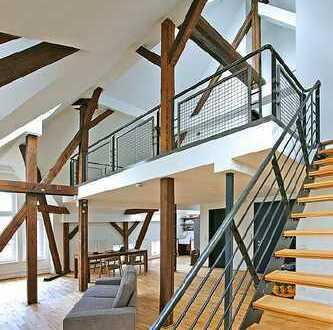 """Schönes Dachgeschoss Loft über 2 Ebenen im """" Fabrikschloß Westend Village"""""""