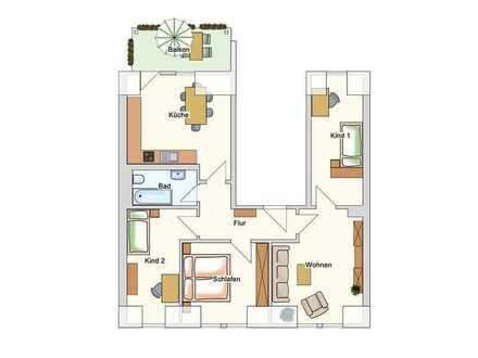 Fichtestr. 33, WE 05 --- 4-Raum-Wohnung