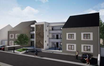 Neubau 2-ZKB-Obergeschosswohnung