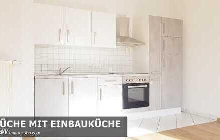 Renovierte 1,5 Raum Wohnung mit neuer Einbauküche am Schwanenteich sucht Sie!