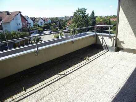 Sehr ruhige Lage mit Balkon