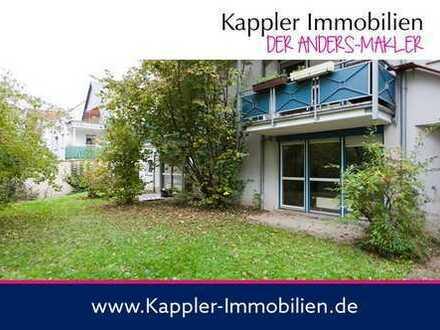 1 Zimmer-Terrassen-Wohnung mit Gartenanteil I Kappler Immobilien