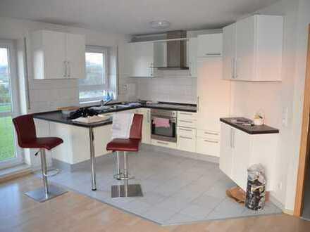 Attraktive 4,5-Zimmer-Maisonette-Wohnung mit Balkon und EBK in Abstatt
