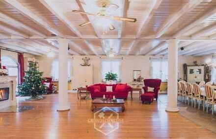 Wohn- und Geschäftshaus im amerikanischen Stil