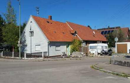 Bauernhaus mit Stadel auf 600 qm in Jettingen-Scheppach zur Selbstrenovierung