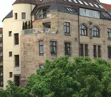 Einzigartige Maisonettewohnung über den Dächern Nürnbergs
