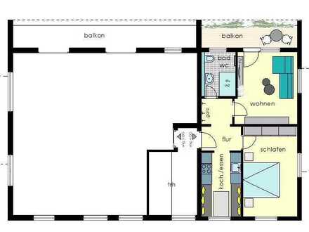 Schöne zwei Zimmer Wohnung in Freudenstadt (Kreis), Baiersbronn