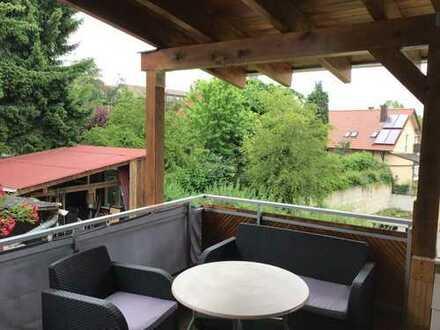 Schönes, helles Zimmer in 3er WG in HN-Neckargartach, kernsaniert, sehr große überdachte Terrasse