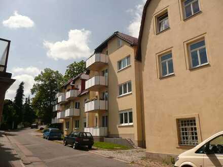 2-Raumwohnung mit Balkon rollstuhlgerecht im betreuten Wohnen