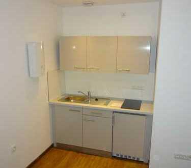 Erstbezug nach Sanierung mit Einbauküche und Balkon: schöne 2-Zimmer-EG-Wohnung in Duisburg