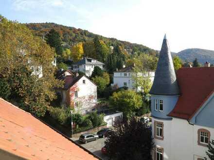 Charmante Dachmaisonette in Jugendstilvilla nahe an der HD-Bergstraße