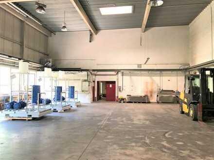 Lager-/Produktionsfläche in Duisburg   ebenerdige Andienung   beheizt   Sozialflächen