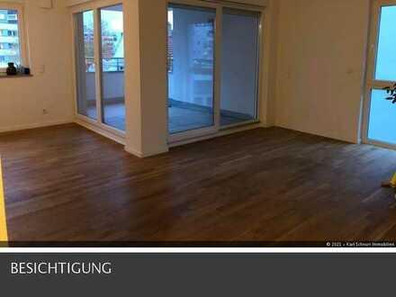 traumhafte topmoderne Wohnung 2 ZKB mit Loggia im Stadtzentrum in Homburg-Saar