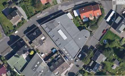 Produktionshalle mit 2 Wohnungen