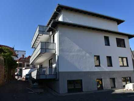 Gemütliche 2 Zimmer Erdgeschosswohnung in modernem Neubau mit Balkon, Erstbezug