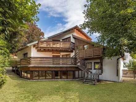 Baubiologisches Einfamilienhaus mit Süd-West-Garten