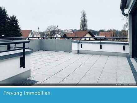 Penthouse mit Sonnenterrasse - 2 Zimmer - Neubau