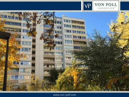 Kapitalanlage - Helle 2 Zimmerwohnung - mit Wintergarten und Einbauküche - Mainpark Offenbach