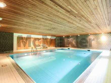 Moderne 2,5-Zi.-ETW inkl. Balkon - in toller Wohnanlage mit Pool und Sauna - im grünen Poppenbüttel