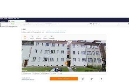 Attraktive, gepflegte 3-Zimmer-Erdgeschosswohnung zur Miete in Leipzig