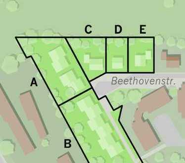 Ca.5 TOP-Grundstücke Wittstock-Zentralort - in verkehrsberuhigter Endlage mit Glasfaser-Anschl. etc.