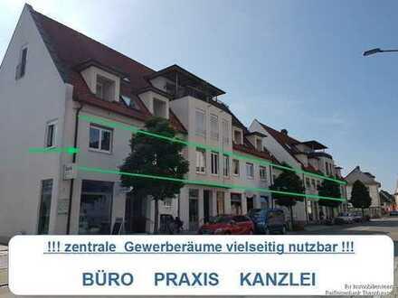 Büroräume inm Herzen von Krumbach - flexibel erweiterbar von 86 qm - 350 qm