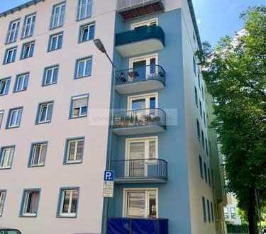 3 ZKB Hochparterre-Wohnung in Innenstadtrandlage mit 61,88 m², schöner Aufteilung und kleinem Balkon