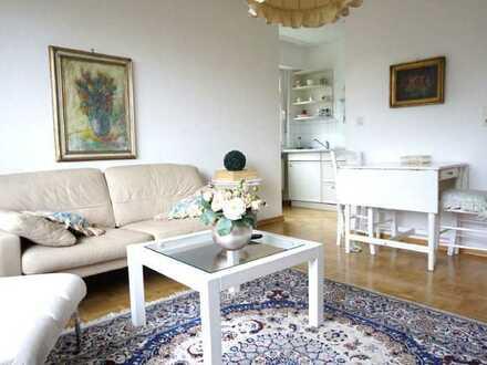 ARNOLD-IMMOBILIEN: TOP !! Möblierte Wohnung in ruhiger Lage